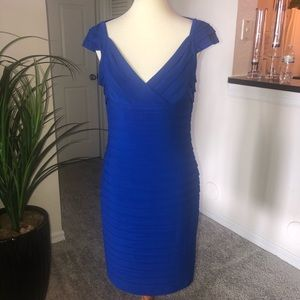 CACHE sexy blue dress